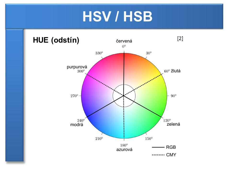 HSV / HSB HUE (odstín) [2]